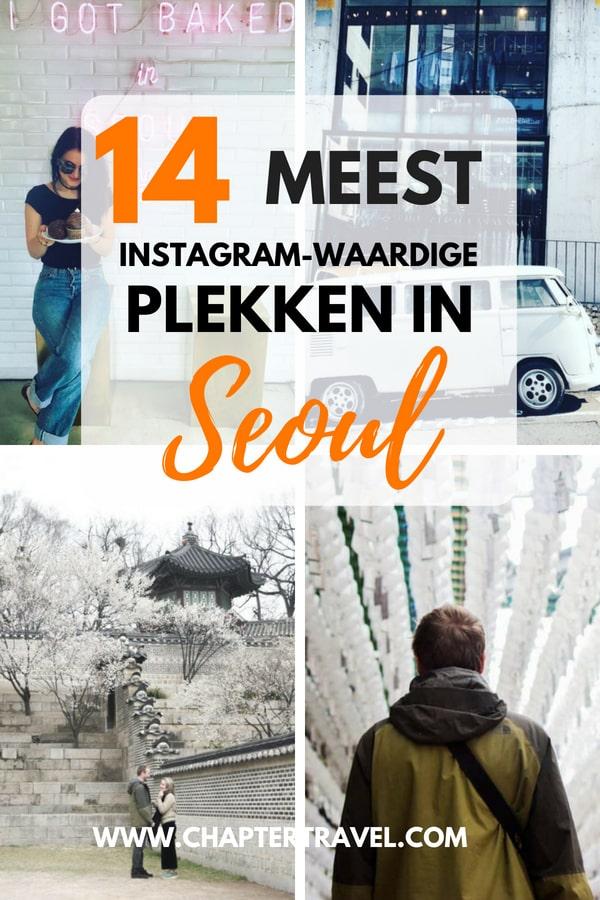Op zoek naar mooie plekken in Seoul? Lees dan ons artikel met 14 Instagram-waardige plekken in Seoul, Zuid-Korea.