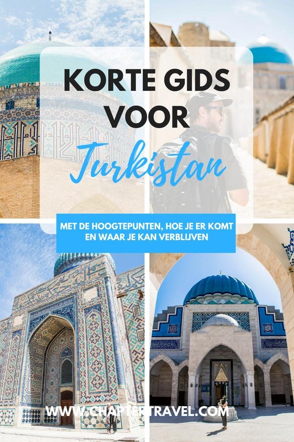 Gebruik deze kleine gids voor Turkistan, Kazachstan om te weten hoe je naar Turkistan reist en waar je in Turkistan of Shymkent verblijft. Dit artikel bevat veel foto's van de hoogtepunten van Turkistan, zoals de beroemde Mausoleum van Khoja Ahmed Yasaw