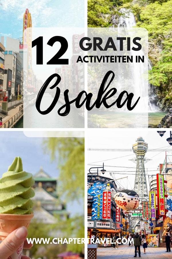 Vind 12 gratis dingen om te doen in Osaka in dit artikel! Het is bekend dat Japan vrij duur kan zijn, maar laat dat je er niet van weerhouden om het land te bezoeken als je je aan een budget moet houden. Het is zeker mogelijk om met een beperkt budget Japan te verkennen. Er zijn tal van leuke activiteiten in Osaka, Japan die volledig gratis zijn! #freethings #Osaka #Japanbudget #Japan